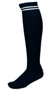 Chaussettes 2 Bandes Noir_Blanc