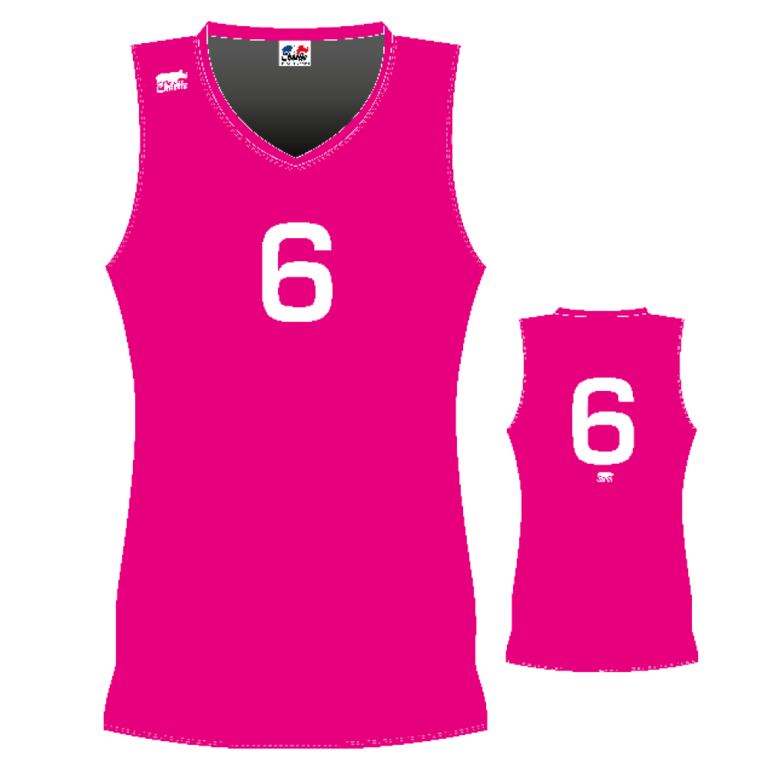 Coupes-Maillots-Femmes-Volley-Sans-Manches