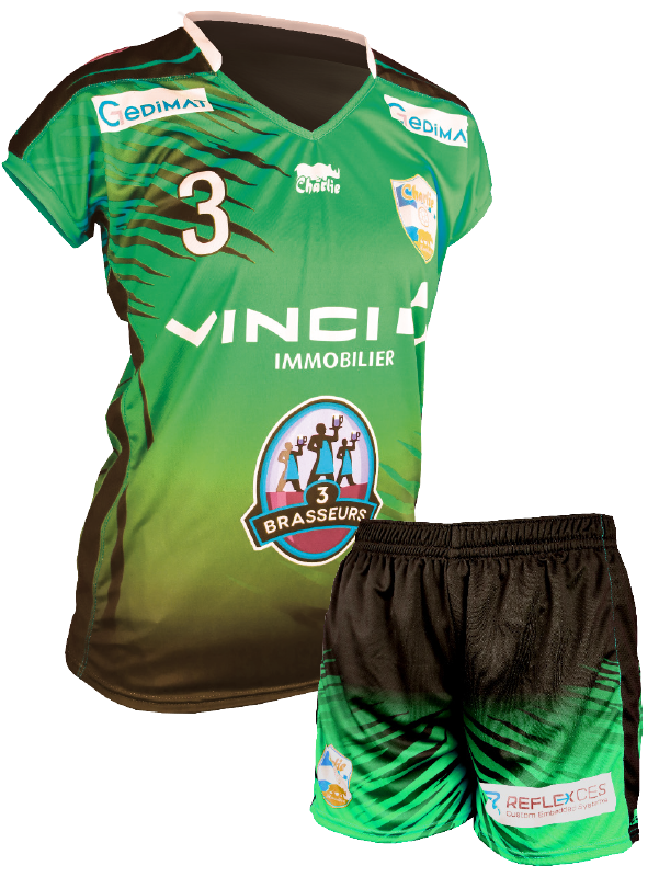 diapo handball tenue femme Vinci