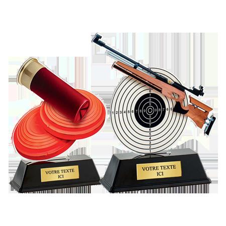 Trophées Acrylique  Tir à la Carabine
