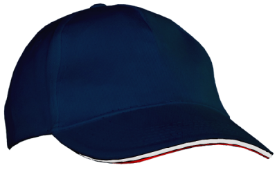 Casquette-Charlie-Couleurs-Marine-Rouge