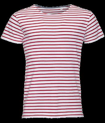 Marinière-Femme-Charlie-Couleurs-Rouge